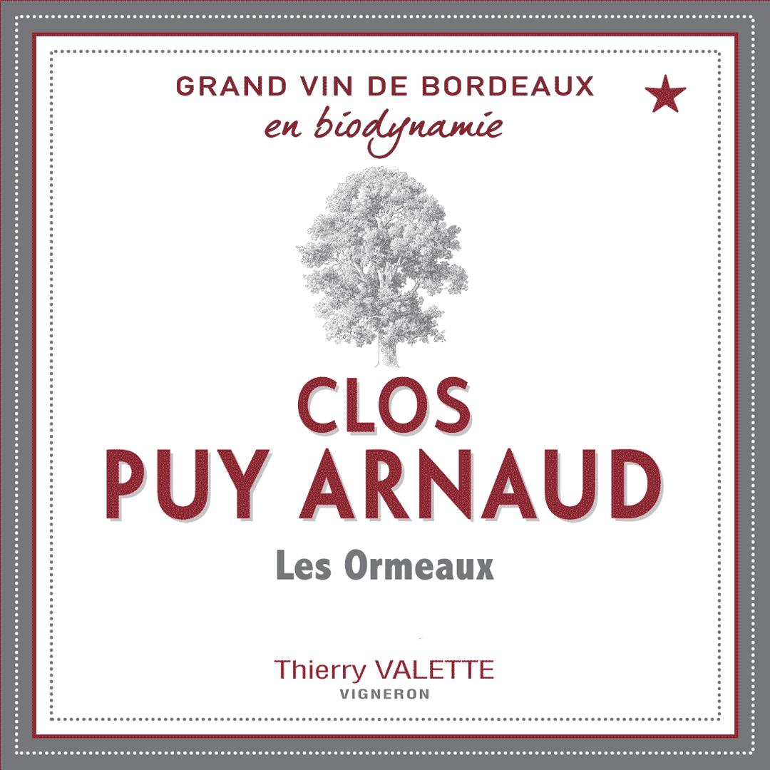 Clos Puy Arnaud - Les Ormeaux