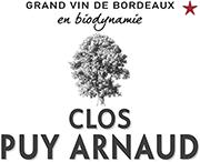 Clos Puy Arnaud – Grand Vin de Bordeaux – Vignoble en Biodynamie Logo