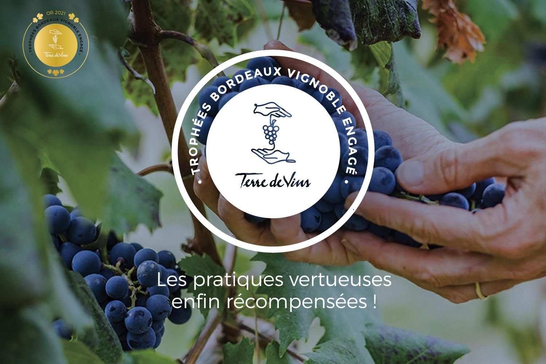 Médaille d'or Clos Puy Arnaud Bordeaux Vignoble Engagé